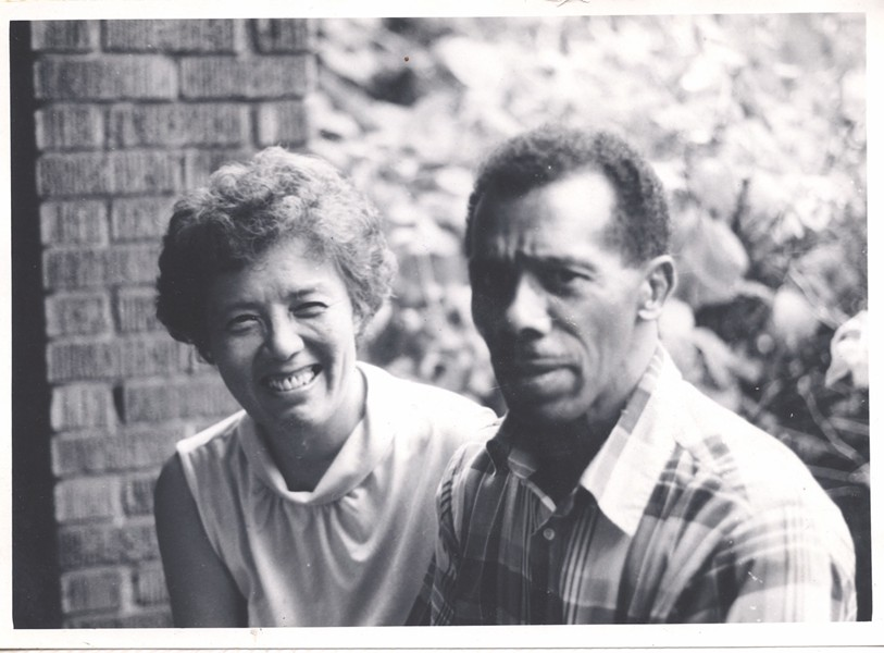 Grace Lee Boggs and James Boggs - IMAGE COURTESY OF AMERICANREVOLUTIONARYFILM.COM