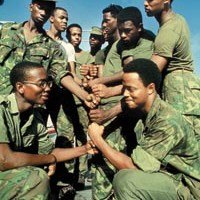 At the Heinz History Center, <i>Soul Soldiers</i> reconnoiters the African-American experience during Vietnam.