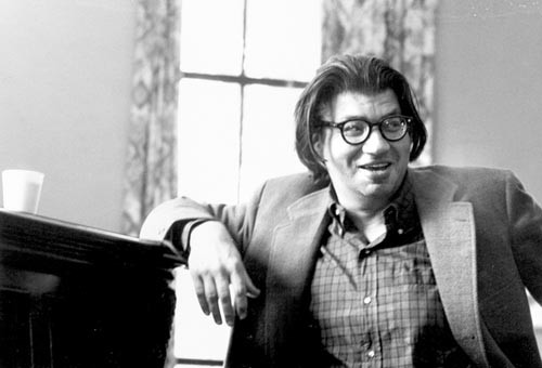 Guess who's coming to dinner? The late composer Morton Feldman, subject of a mini-festival this week at Pitt - PHOTO COURTESY OF LEO SMIT, UNIVERSITY OF BUFFALO MUSIC LIBRARY