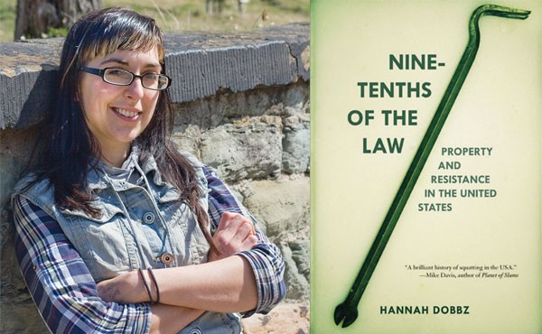 Hannah Dobbz, author of Nine-Tenths of the Law