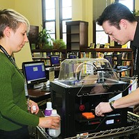 New Dimension: Carnegie Library opens new doors with its 3-D printer