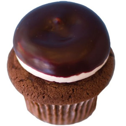 Happy hour: East End Chocolate Stout cupcake with Baileys Irish Cream frosting