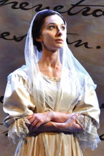 Heroine addition: Allison McLemore in PICT's Jane Eyre - COURTESY OF SUELLEN FITZSIMMONS