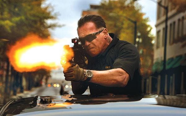 He's back: Arnold Schwarzenegger