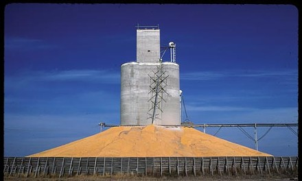 High church of the Plains: Iowa grain elevator