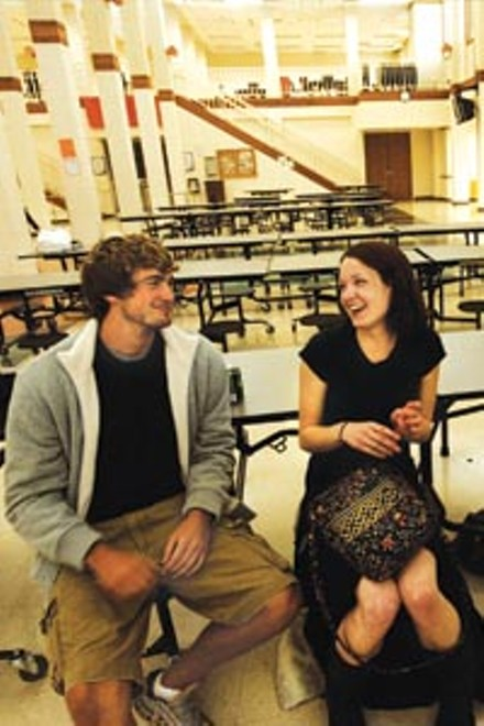 High school sweethearts Mitch Reinholt and Hannah Bailey