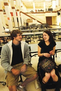 High school sweethearts Mitch Reinholt and Hannah Bailey