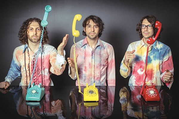 Hold the phone: The Stepkids (Jeff Gitelman, left)