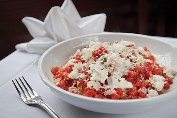 House-made pasta Margherita, Alla Famiglia