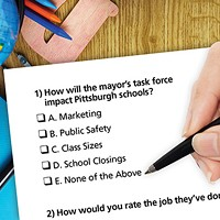 Trick Question: Can the mayor's education task force make a difference in Pittsburgh schools by ignoring its problems?