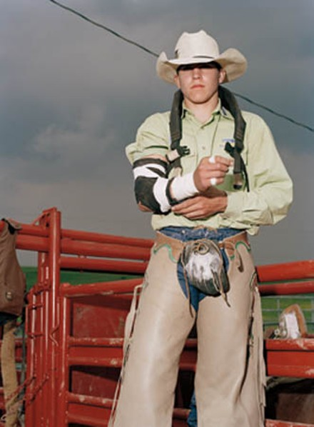 "Howdy, pardner: ""Anonymous Cowboy,"" by Collier Schorr. - PHOTO COURTESY THE ARTIST AND 303 GALLERY."