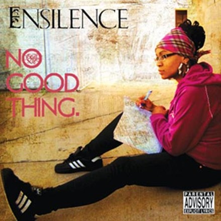 """I just do me"": Ensilence on the cover of her latest, No Good Things"