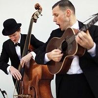 The Two Man Gentlemen Band brings old-time music to Thunderbird Café