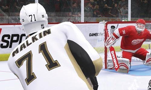 If only the real Evgeni Malkin could score this easily.