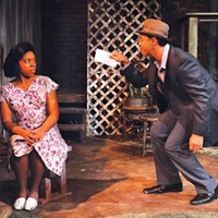 Ife Foy as Vera Dotson and Tru Verret-Fleming as Floyd Barton.