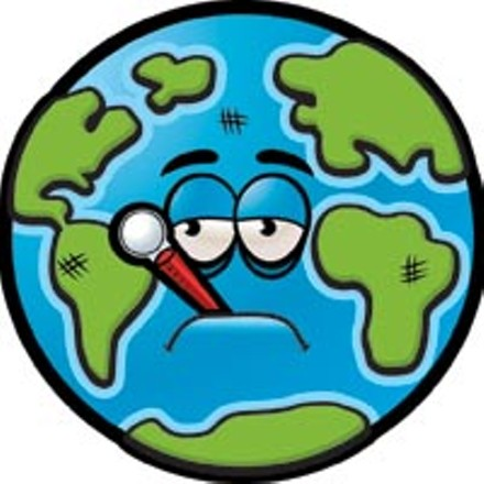 Ill treatment: Cartoonishness aside, maybe thinking of the planet as a sick person is a better way to understand climate change.