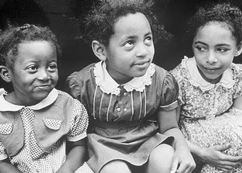 American history sits for a portrait in a photo show at the Westmoreland Museum of American Art.