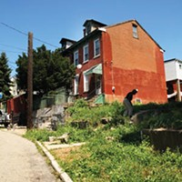 In 2009 the city promised to fix up crumbling Lombard Street in the Hill District. Residents say little, if anything, was done.