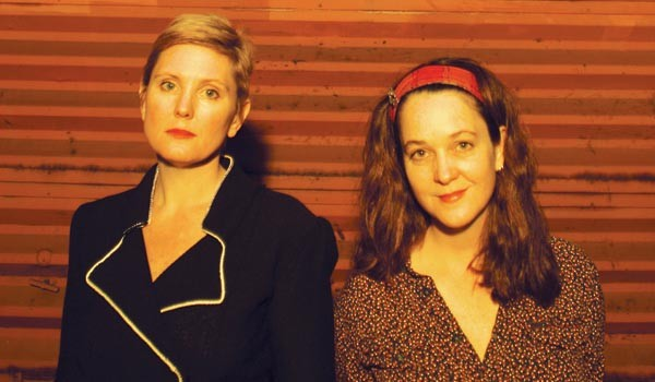 In it for the cable TV: Freakwater's Janet Bean (left) and Catherin Irwin