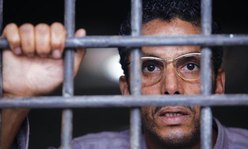 In prison, Abdelkader (Sami Bouajila) waits for history to be unleashed.