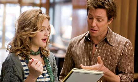 In rhyme and on time: Drew Barrymore and Hugh Grant pen a pop hit.