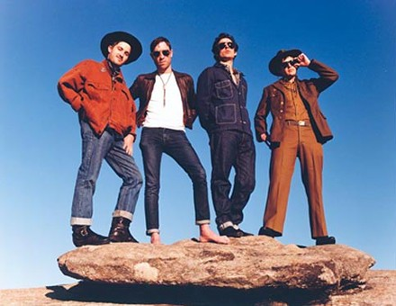 Infamous is when you're more than famous: The Black Lips - COURTESY OF ZACH WOLFE
