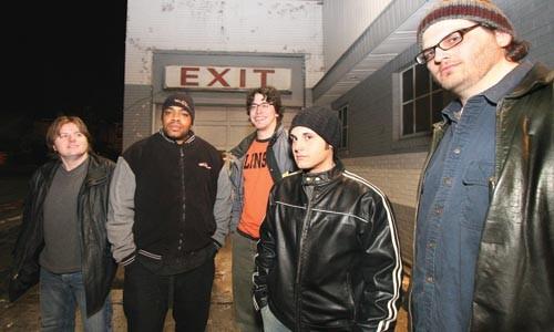 Inside jokers: Stuck in Standby (Joe Pucciarelli, far right). - PHOTO BY HEATHER MULL