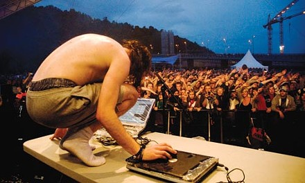 International player: Girl Talk mixes it up at August's ya Festival in Oslo, Norway. - PHOTO COURTESY OF JAN ERIK SVENDSEN