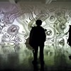 Internationally known artist Miguel Chevalier's latest installation at Wood Street Galleries is engagingly interactive