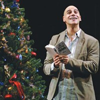 It's George, by Mark: Mark Setlock plays George -- and everyone else -- in Pittsburgh Public Theater's This Wonderful Life.