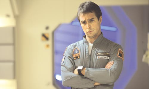 It's lonely out in space: Sam Rockwell