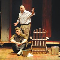 Jack Cutmore-Scott and Jeff Still in <i>Red</i>, at Pittsburgh Public Theater