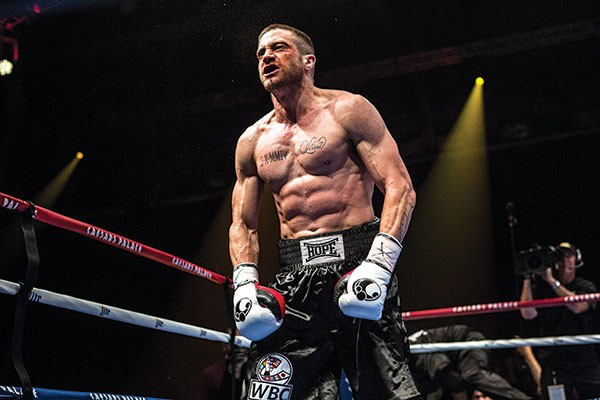 Jake Gyllenhaal, in Southpaw film shot in Pitsburgh
