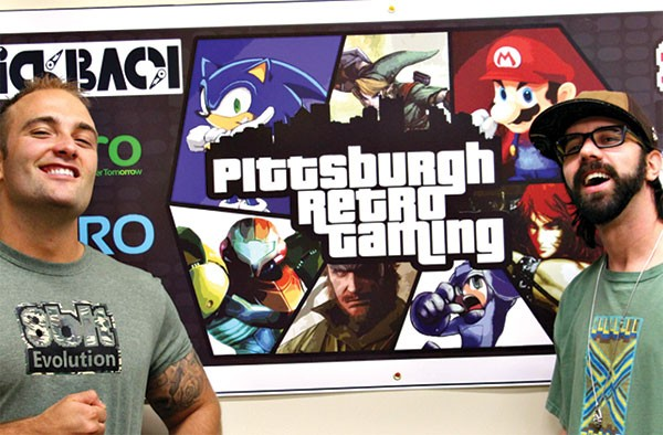 James Deighan and Matt Jurcic are producing the Pittsburgh's first Retro Gaming Expo