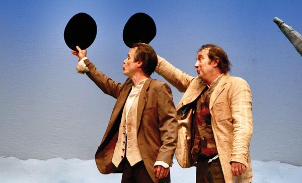 James FitzGerald (left) and Martin Giles in PICT Classic's Waiting for Godot.