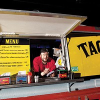 James Rich, slinging tacos from his Pittsburgh Taco Truck