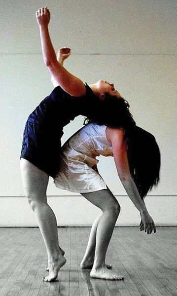 Jamie Murphy (left) and Renee Daniel Smith of the Murphy/Smith Dance Collective.