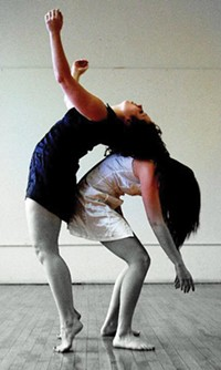 Jamie Murphy (left) and Renee Daniel Smith of the Murphy/Smith Dance Collective.