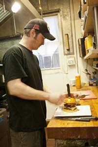 Jamison's chef Andrew Bash