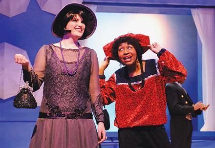 Jana Mahany (left) and Sheridan Singleton in Point Park Conservatory's Twelfth Night - PHOTO COURTESY OF DREW YENCHAK