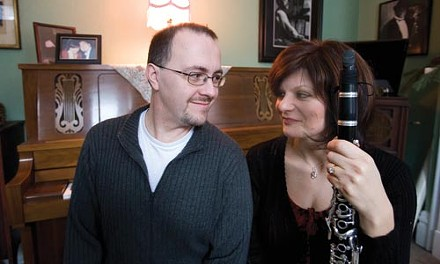 Jazz 'em up: Tom and Suzanne Roberts. - HEATHER MULL