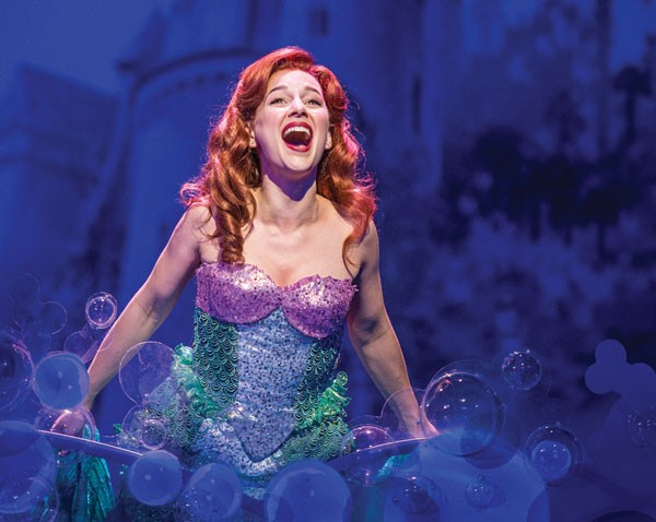 Jessica Grove in Pittsburgh CLO's The Little Mermaid