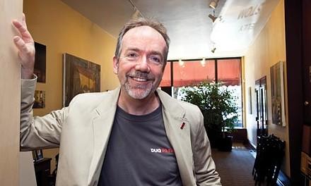 Joe Kelly, board chair for Pittsburgh Public Media - PHOTO BY JOHN ALTDORFER