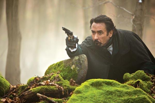 John Cusack stars as Edgar Allan Poe: Action Hero.