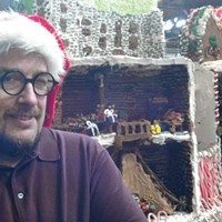 Jon Lovitch, artist behind Station Square's Gingerbread Lane