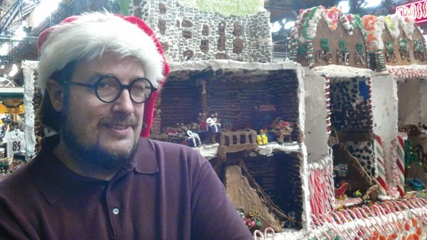 Jon Lovitch, artist behind Station Square's Gingerbread Lane