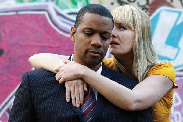 Jonathan Berry and Tami Dixon in Dutchman. - PHOTO COURTESY OF JASON COHN