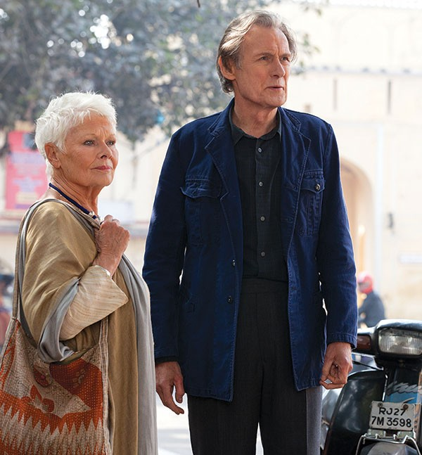 Judi Dench and Bill Nighy in The Second Best Exotic Marigold Hotel