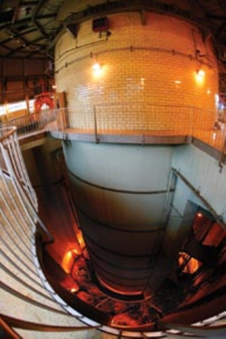 Just a flush away: ALCOSAN's intake facility - PHOTO: HEATHER MULL