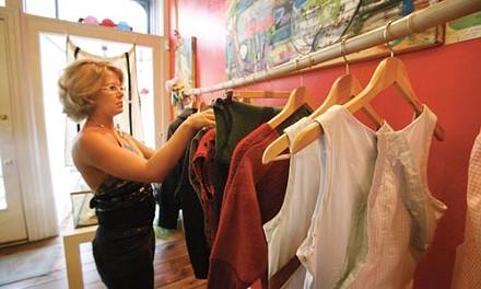 Katie Bulger sweetening the racks at SUGAR - HEATHER MULL